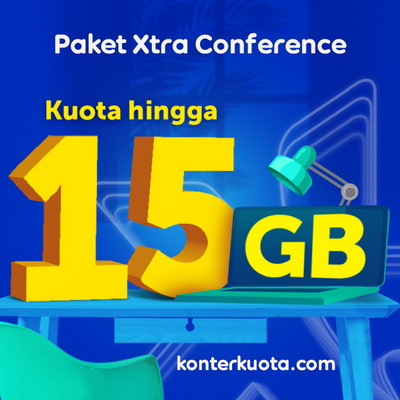 Kuota XL XL Xtra Conference & Edukasi - Xtra Conference 15 GB